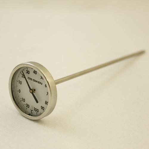 ダイヤル温度計(中心タイプ)