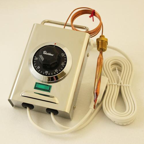サーモスタット(20~120度・ランプ付き)
